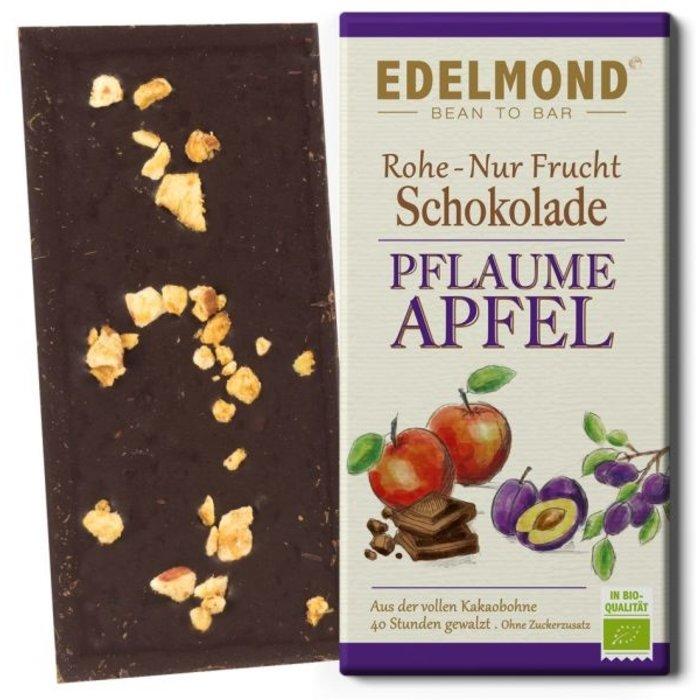 """- """"Nur Frucht"""" Pflaume-Apfel-Schokolade, Bio"""