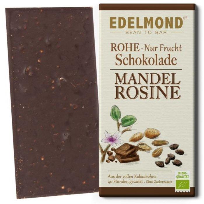 """-  """"Nur Frucht"""" Mandel-Rosine Schokolade, Bio"""