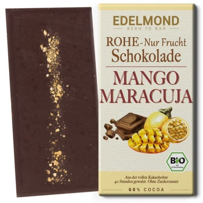 "- ""Nur Frucht"" Mango-Maracuja Schokolade, Bio"