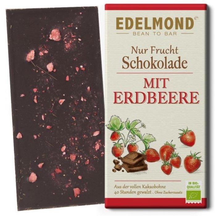 """- """"Nur Frucht"""" Erdbeer-Schokolade, Bio"""