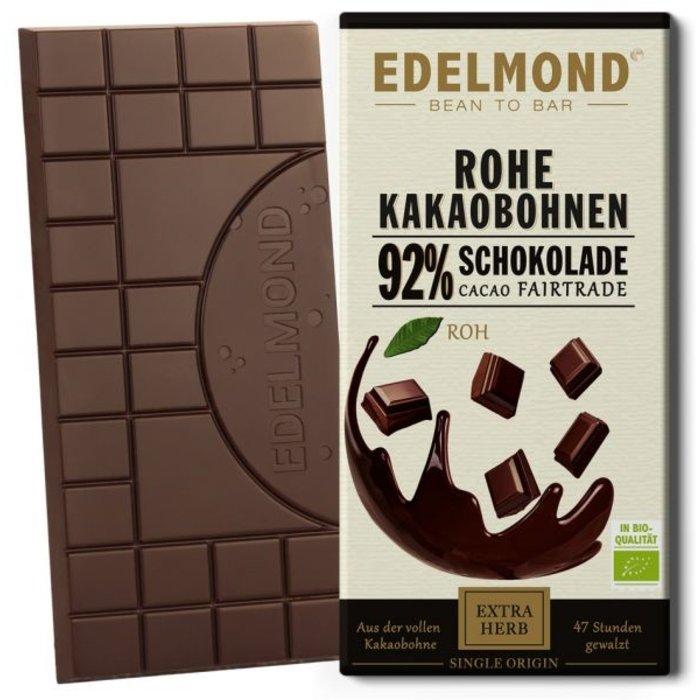 -   Rohe 92% Schokolade, Bio , 75g