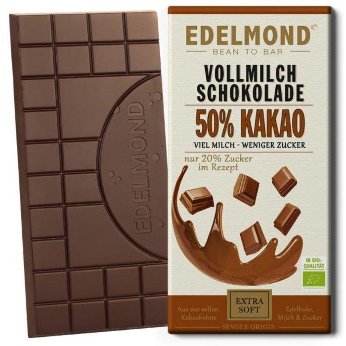 - 50% Milchschokolade, Bio