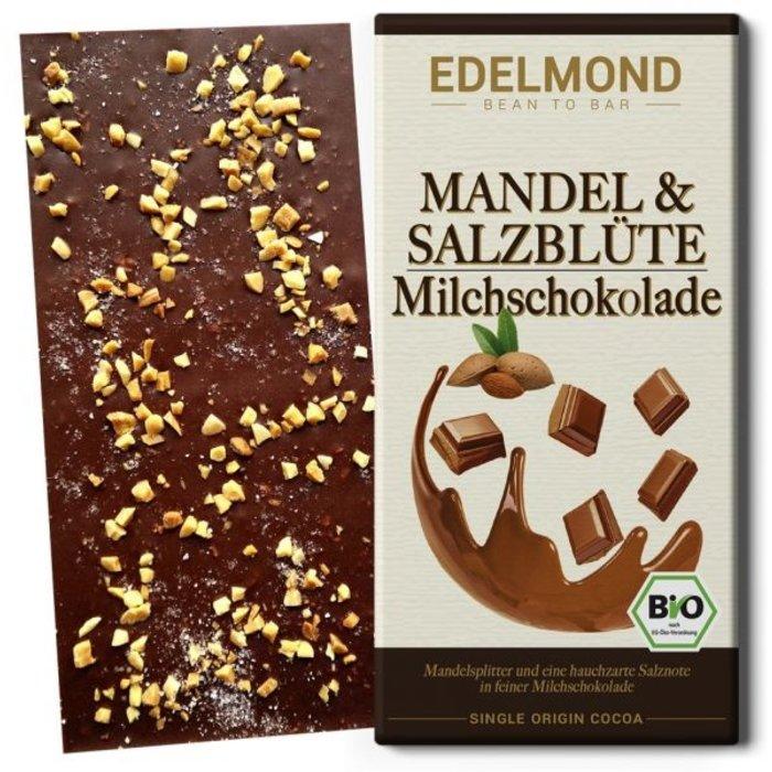 - Mandel & Salzblüte Milchschokolade, Bio