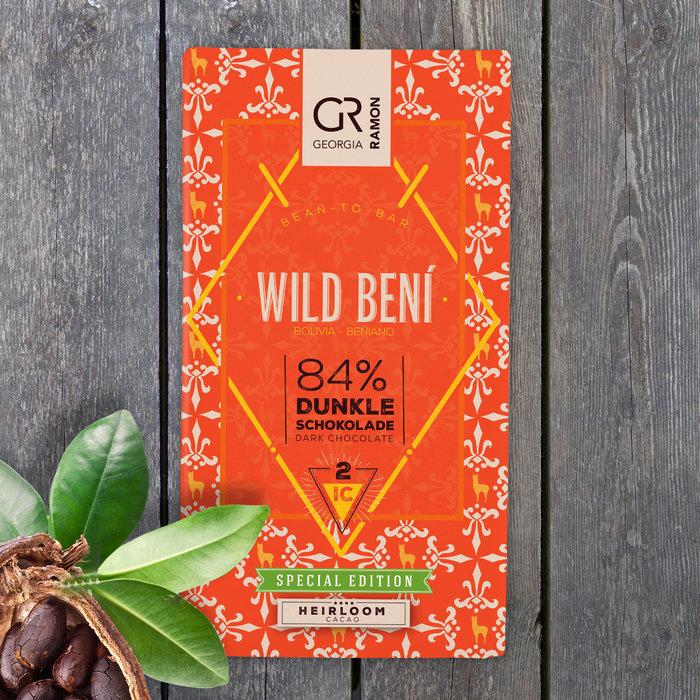 - Bolivia Wild Beni 84%, 50g