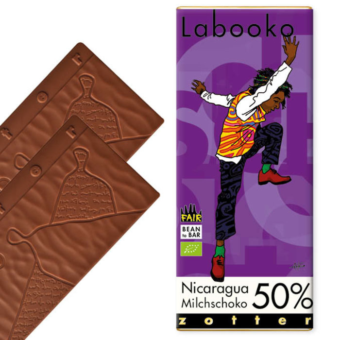 -   50% Milchschoko Nicaragua