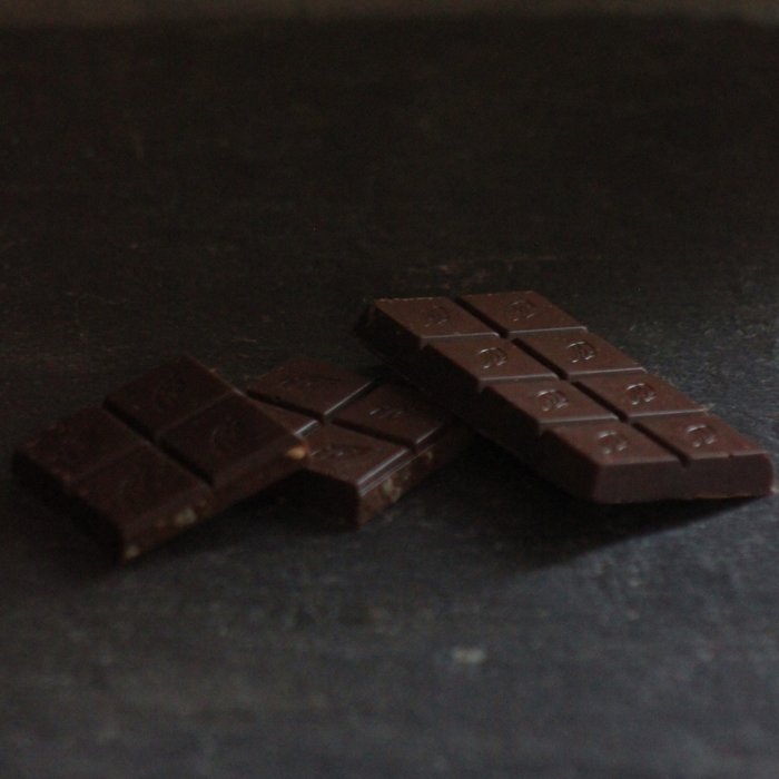 - Ginger Lime, 70% Zartbitterschokolade, 50g