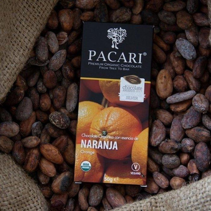 - Bio Schokolade Orange, 60%, 50g
