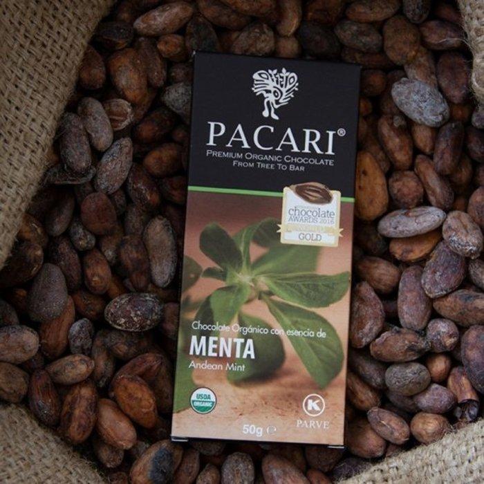 - Bio Schokolade Anden Minze, 60% Kakao