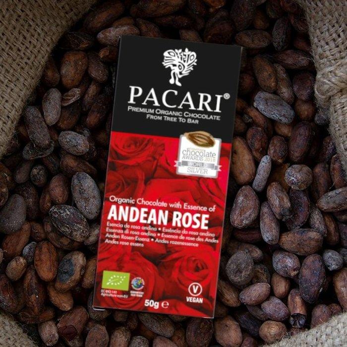 - Bio Schokolade Andean Rose, 60% Kakao, 50g