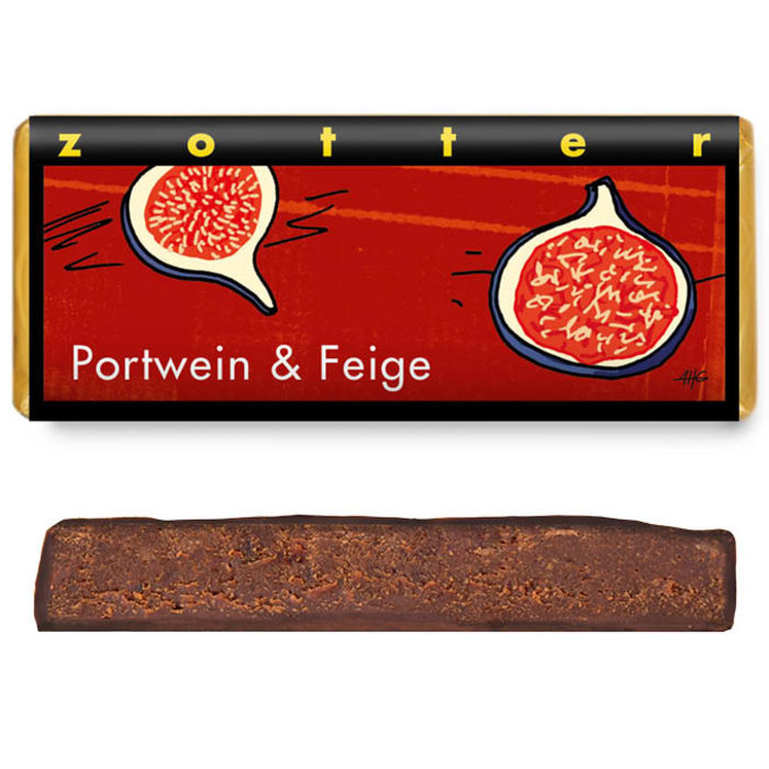 - Portwein & Feige