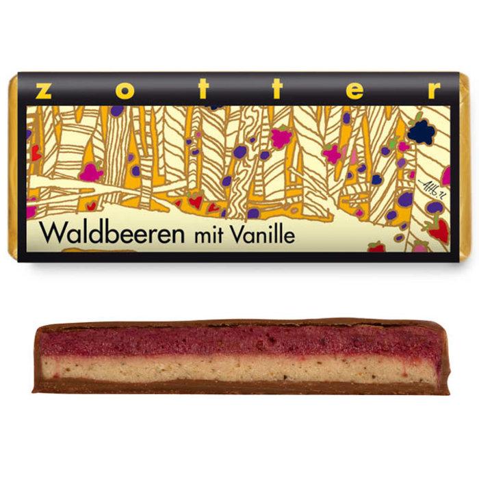 - Waldbeeren mit Vanille