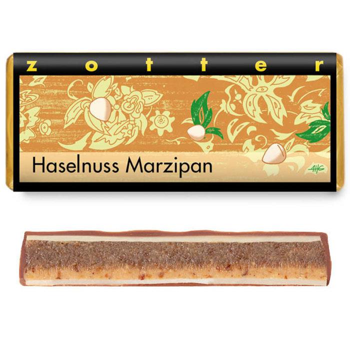 -  Haselnuss Marzipan