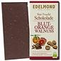 """-""""Nur Frucht"""" Walnuss-Blutorange Schokolade, Bio, 75g"""