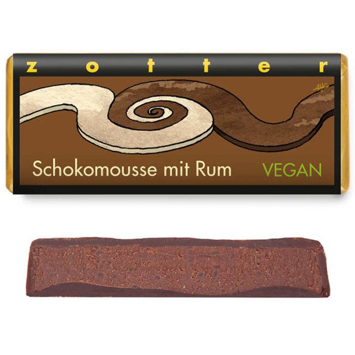-   Schokomousse mit Rum VEGAN