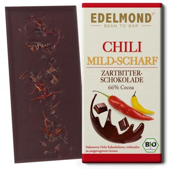 -  MILDE Chili Zartbitterschokolade, Bio