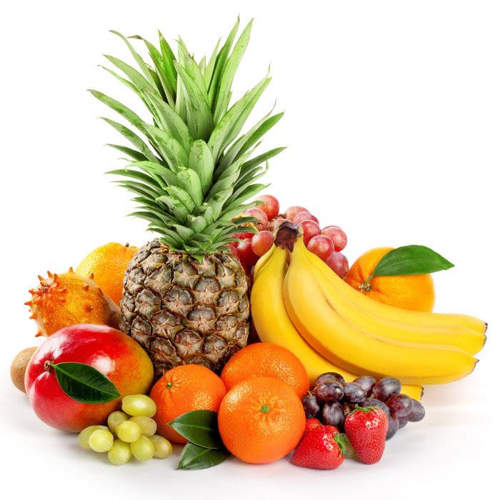 Mit Früchte