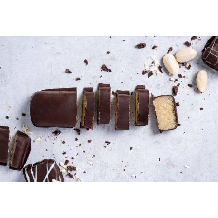 - Marzipanbrot Zartbitterschokolade