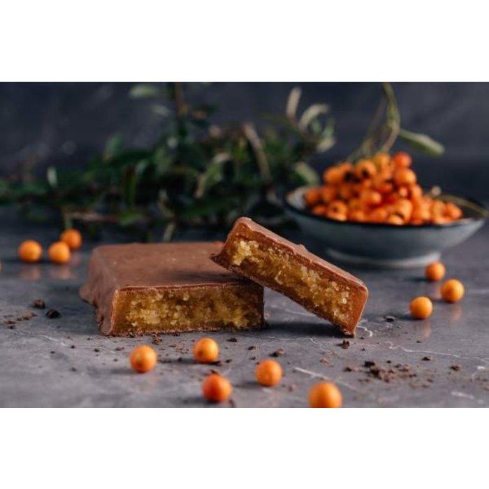 - Sandorn Orangen-Marzipantafel mit Zartbitterschokolade