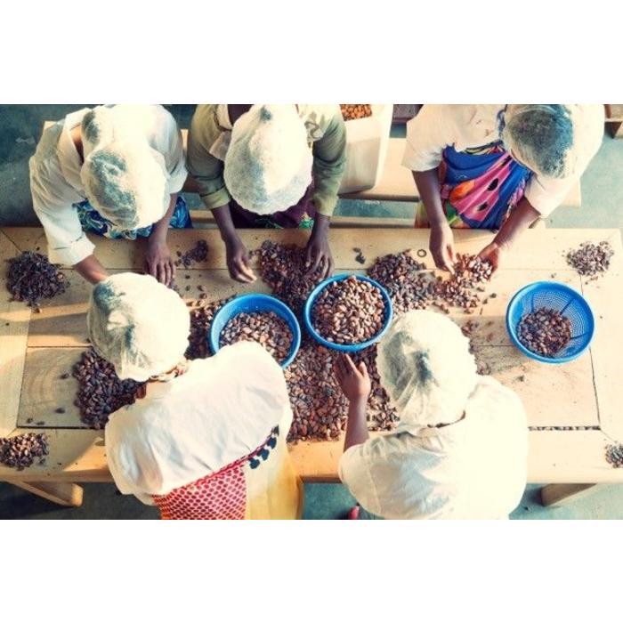 - MADAGASCAR CHOCOLATE | COMBAVA & PINK PEPPER | DARK/NOIR 63% | Zartbitterschokolade mit Combava und Paprika, 75g