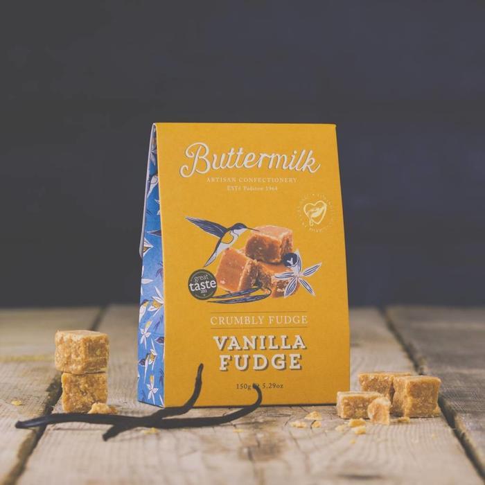 - CRUMBLY FUDGE - VANILA FUDGE | Mürbes Weichkaramell mit feiner Vanillenote, 150g