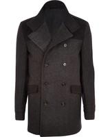 Long grey coat