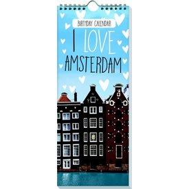 Interstat I Love Amsterdam Geburtstagskalender