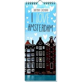 Interstat I Love Amsterdam Verjaardagskalender