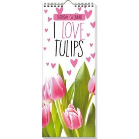 Interstat Tulpen - I Love Tulips Geburtstagskalender