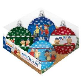 Plenty Gifts Buurman & Buurman Kerstballen Set (4 stuks)