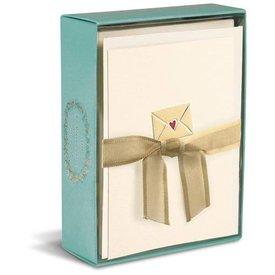 Graphique de France Letter From My Heart 10 Boxed Notitiekaarten met envelop