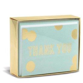 Graphique de France Blue And Gold 10 Boxed Grußkarten mit Umschlag