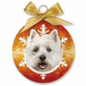 Plenty Gifts West Highland White Terrier Kerstballen Set (3 stuks)