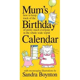 Workman Publishing Mum's Birthday Geburtstag Kalender