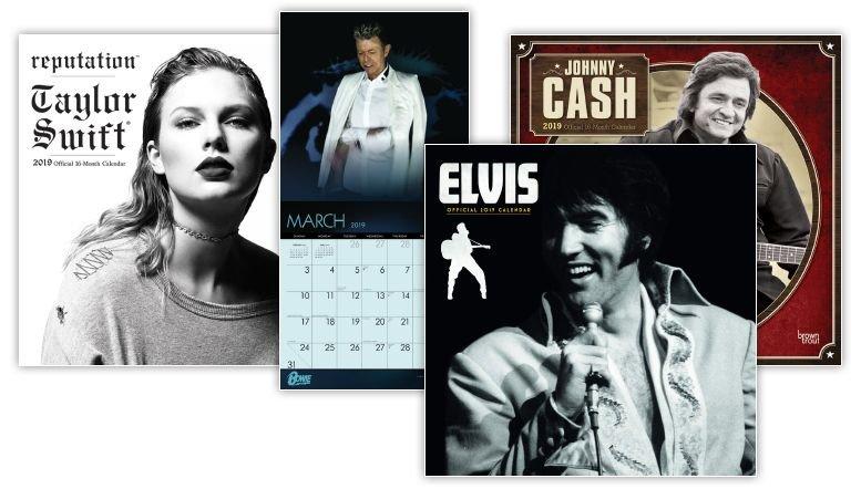 Pop & Rock Kalenders 2020