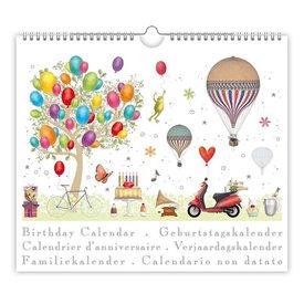 Quire Collections Balloons Verjaardagskalender