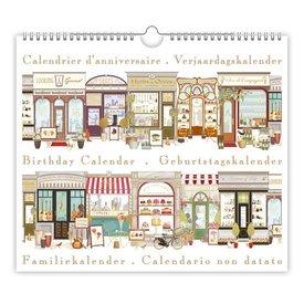 Quire Collections Shop Fronts Geburtstagskalender