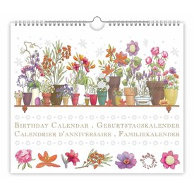 Quire Collections Flowers Verjaardagskalender