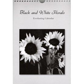 Catch Publishing Black and White Florals Verjaardagskalender