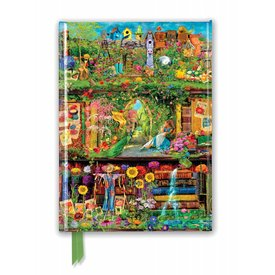 Flame Tree Aimee Stewart: Garden Bookshelves Notebook