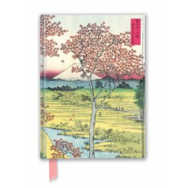 Flame Tree Hiroshige: Twilight Hill Notebook