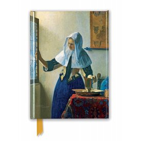 Flame Tree Johannes Vermeer: Young Woman Notebook
