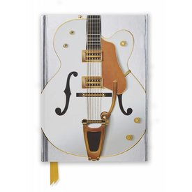 Flame Tree White Guitar Notebook