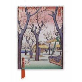 Flame Tree Hiroshige: Plum Garden Notebook