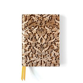 Flame Tree Alhambra Stone Relief Notebook