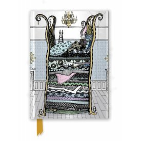Flame Tree Peacock: Princess and the Pea Notebook
