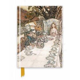 Flame Tree Rackham: Alice In Wonderland Notebook