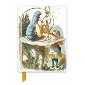 Flame Tree British Library Tenniel: Alice in Wonderland Notebook