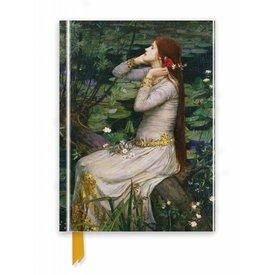 Flame Tree Waterhouse: Ophelia Notebook