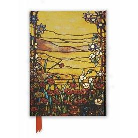 Flame Tree Tiffany: Red Flowers and a Stream Notebook
