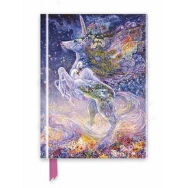 Flame Tree Josephine Wall: Soul of a Unicorn Notebook